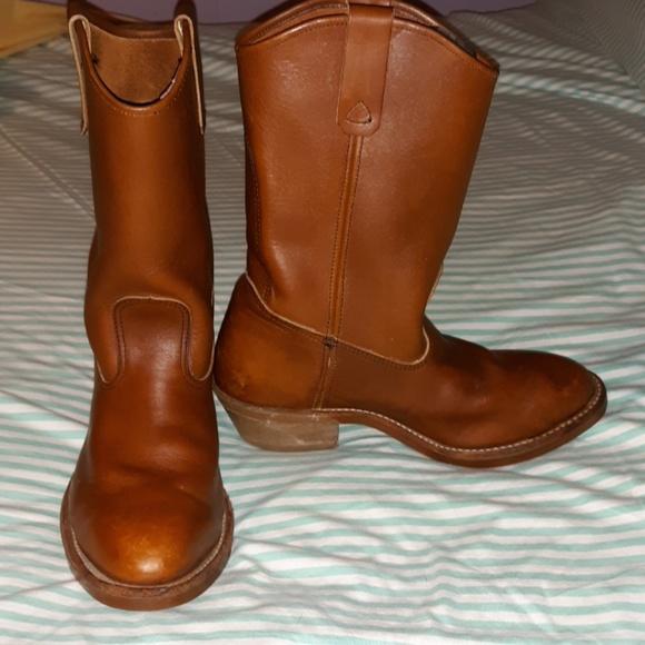 47fae0d94fe Work N' Sport Vintage Cowboy Boots Pecos 7.5